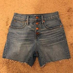 Madewell Denim Shorts (Sz 25)